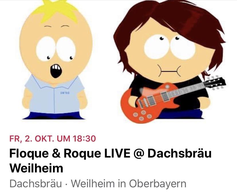 Floque und Roque @Dachsbräu